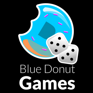 Blue Donut studios make and sell card and board games