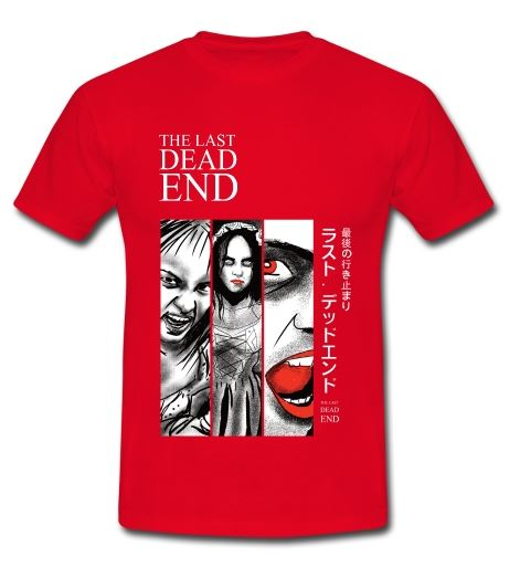 The Last Dead End Comic T-shirt