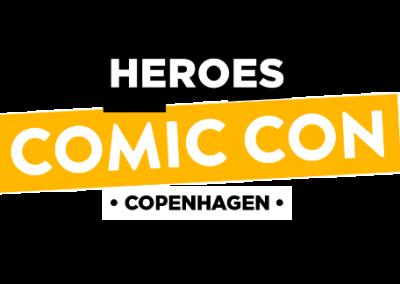 Heroes Copenhagen Comic Con 2018 Logo