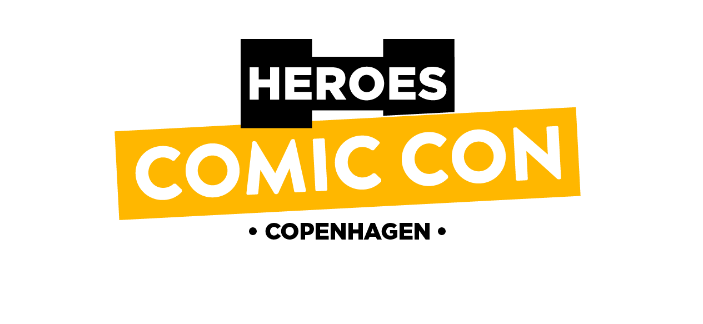 Heroes Copenhagen Comic Con May 4-5 2018