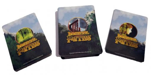 Fantasy Card Game The card backs from Immortal Paths Card Game