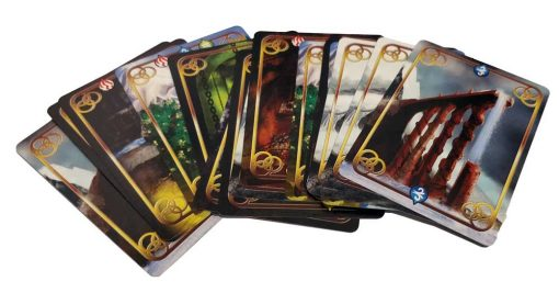 Fantasy Card Game Immortal Paths Obstacle Cards from the game