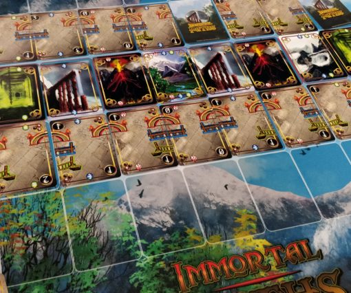 Fantasy Card Game Immortal Paths Game Mat