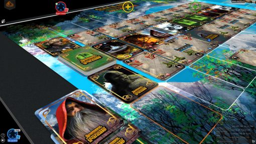 closeup of Immortal Paths Fantasy card game