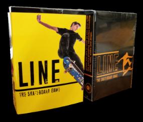 Line skateboard Card Game